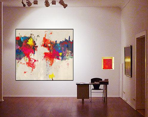 Gemälde Wohnzimmer, kunstgalerie berlin, Design ideen